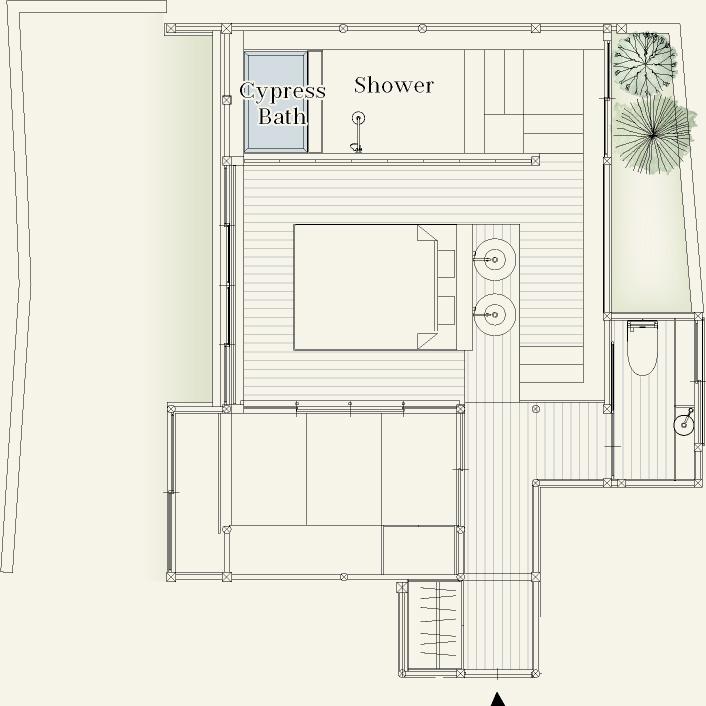Garden View Skip Floor