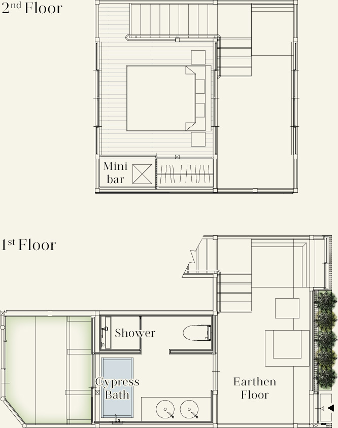 Detached Room: Superior Townhouse Style